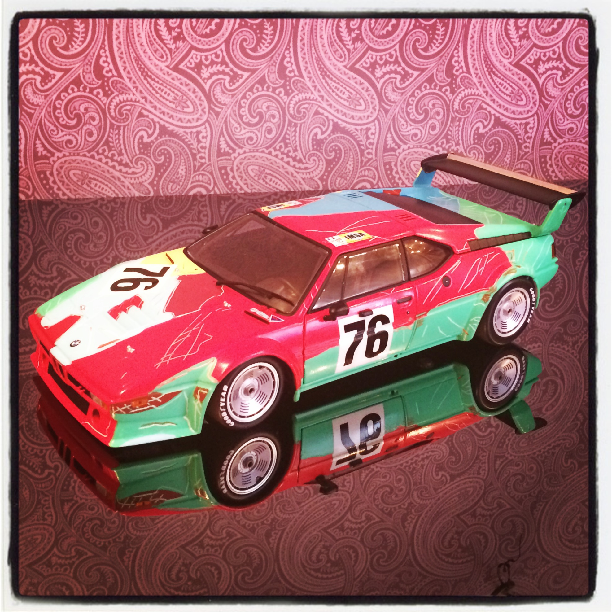BMW M1 group 4, Andy Warhol, 1979 (minichamps)