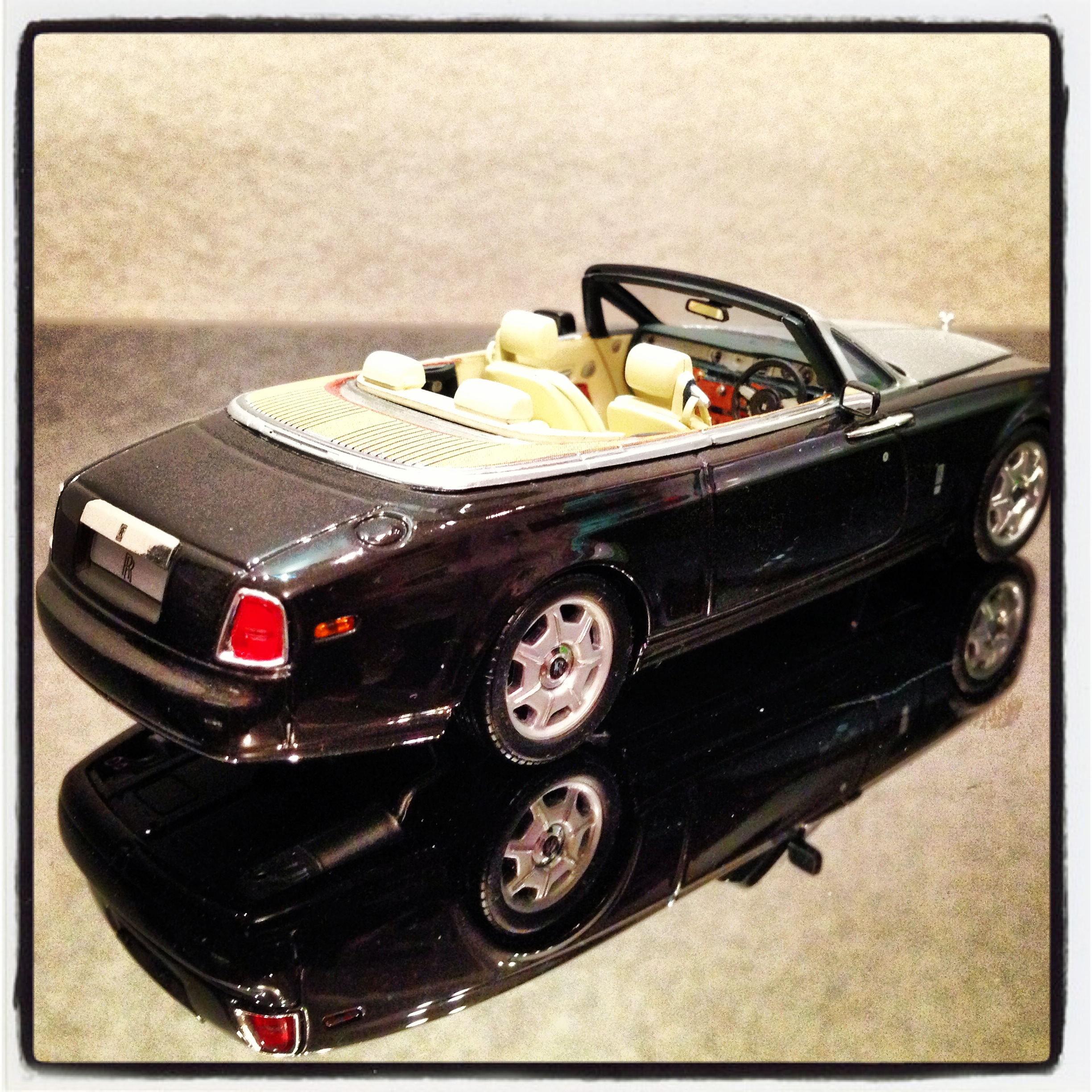 Rolls-Royce Phantom Drophead Cabrio black (minichamps)
