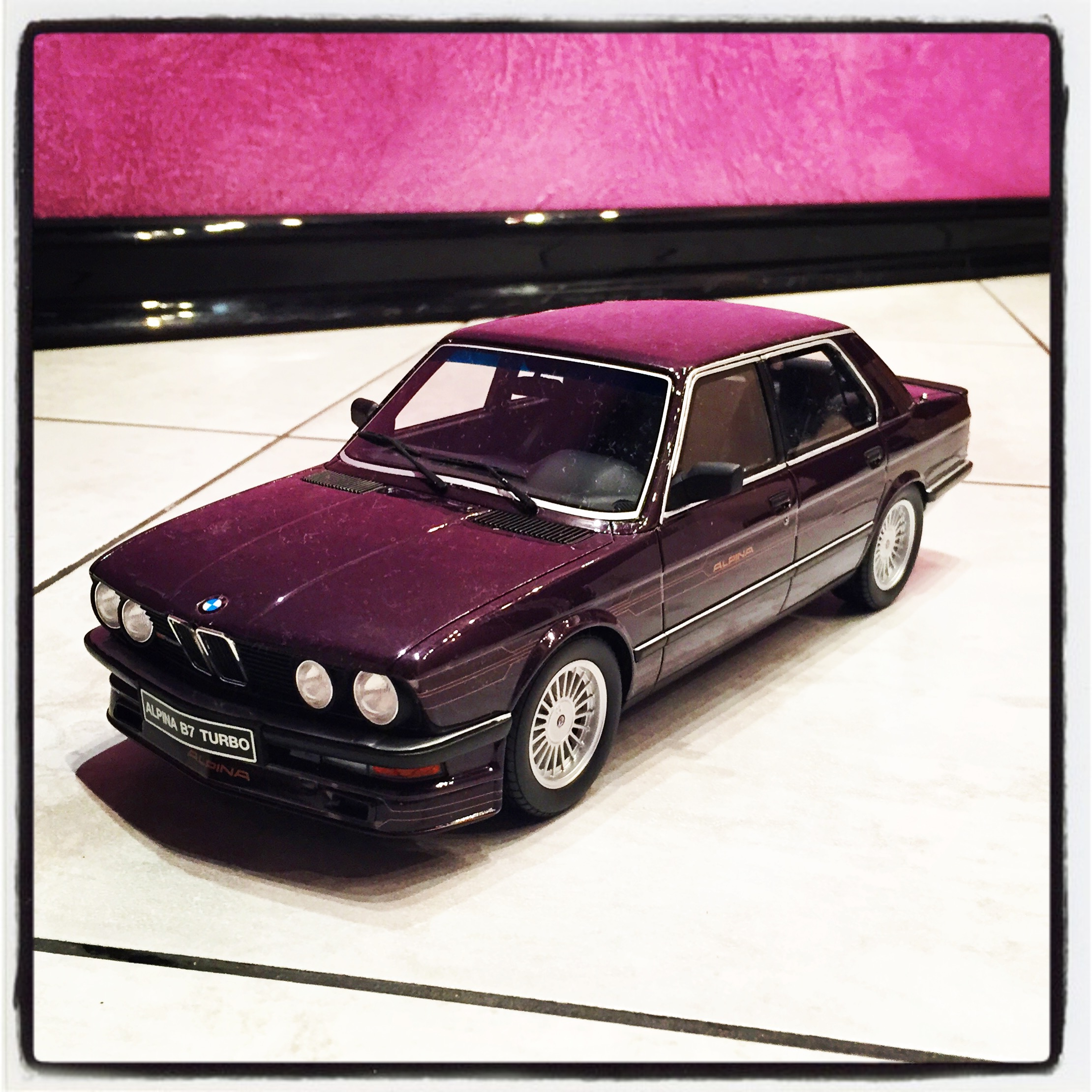 Alpina B7 (E28) Turbo, le 2480 of 2,500pcs. (otto)